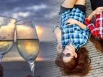 女子会 シャンパン