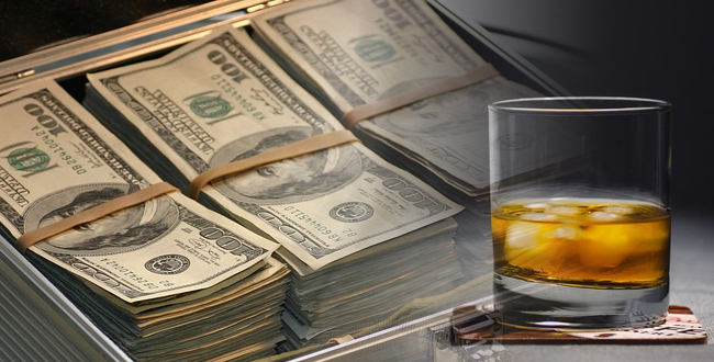 お金持ち ウイスキー